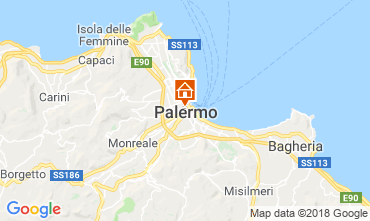 Map Palermo Apartment 116340