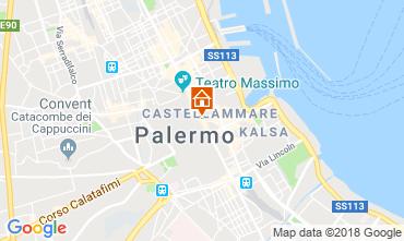 Map Palermo Apartment 116340