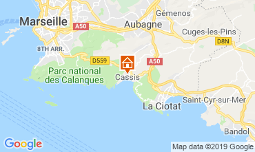 Map Cassis Apartment 119352