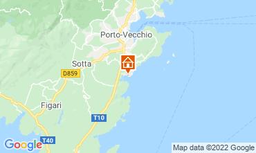 Map Porto Vecchio Villa 40852