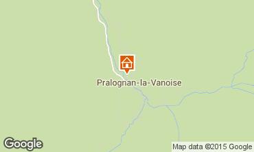 Map Pralognan la Vanoise Apartment 48499