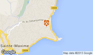 Map Sainte Maxime House 8531