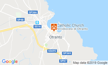 Map Otranto Apartment 105431