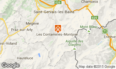 Map Les Contamines Montjoie Chalet 27332