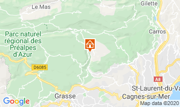Map Grasse House 90504