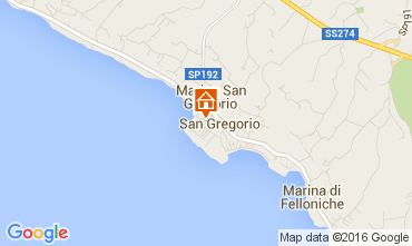 Map Santa Maria di Leuca House 104045