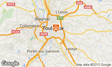 Map Toulouse Apartment 92820