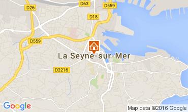 Map La Seyne sur Mer Villa 95455