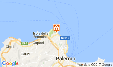 Map Palermo Villa 108973