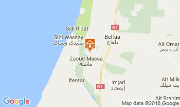 Map Agadir Villa 113551