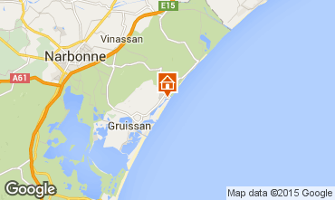 Map Gruissan Mobile home 6270