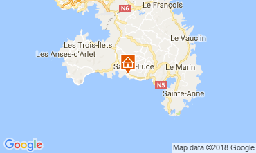 Map Sainte Luce Bungalow 114766