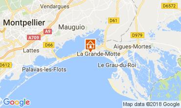 Map La Grande Motte One-room apartment 70583