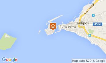 Map Gallipoli One-room apartment 105095