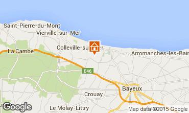 Map Bayeux Vacation rental 84616