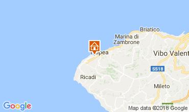 Map Tropea Apartment 105748
