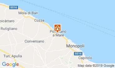Map Polignano a Mare Apartment 119258
