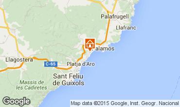 Map Sant Antoni de Calonge House 63686