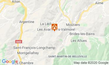 Map Valmorel Apartment 49915