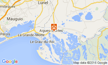 Map Aigues Mortes Apartment 89094