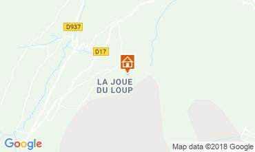 Map La joue du Loup Chalet 76008