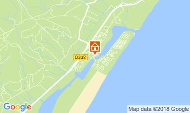 Map Gruissan-Plage Apartment 113394