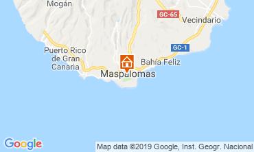Map Maspalomas Apartment 104988