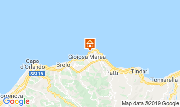 Map Gioiosa Marea Apartment 108219