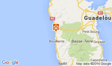 Map Bouillante Vacation rental 103675