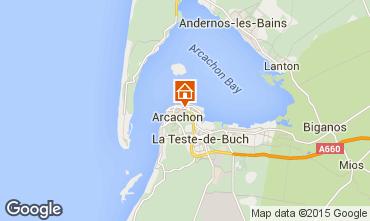 Map Arcachon Apartment 60086