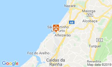 Map São Martinho do Porto Apartment 120014