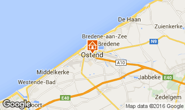 Map Ostend Apartment 75999