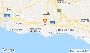 Map Albufeira House 83571