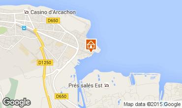 Map Arcachon Apartment 81764