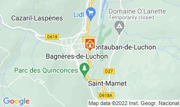 Map Bagnères-de-Luchon Apartment 118225