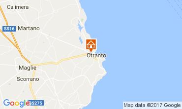 Map Otranto Villa 107915