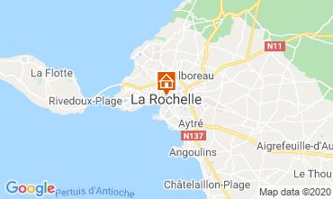 Map La Rochelle Apartment 106433