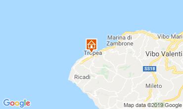 Map Tropea Apartment 113977