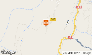 Map Ax Les Thermes Chalet 67772