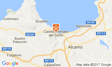 Map Castellammare del Golfo Apartment 110303