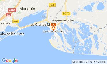 Map Le Grau du Roi Apartment 108003