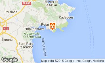 Map Rosas Apartment 72870