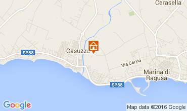 Map Marina di Ragusa Apartment 104383