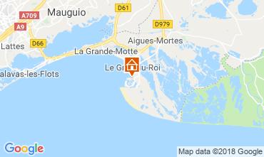 Map Port Camargue One-room apartment 117568