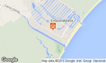 Map Empuriabrava Villa 39089