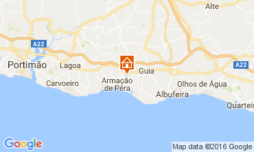Map Armação de Pera Villa 86156