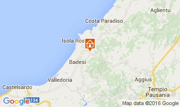 Map Isola Rossa Apartment 60142