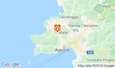 Map Ajaccio House 100009