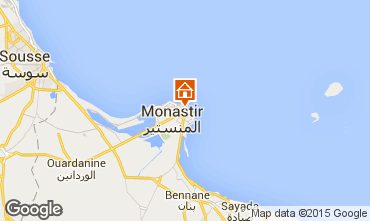 Map Monastir Apartment 87542