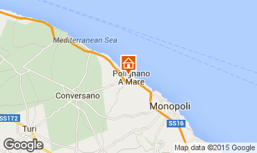 Map Polignano a Mare Apartment 75249